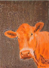 Freiwerk, Wartenberg, Ölmalerei, Kuh
