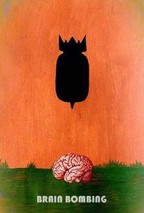 Wahnsinn, Explosion, Gehirn, Kopfschmerz