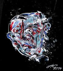 Expressionismus, Gesicht, Malerei