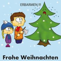Tannenbaum, Weihnachten, Erbarmen, Brauch