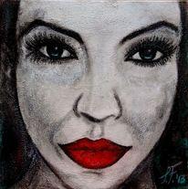 Gesicht, Frau, Lippen, Augen