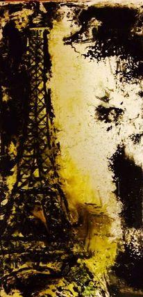 Paris, Eiffelturm, Malerei
