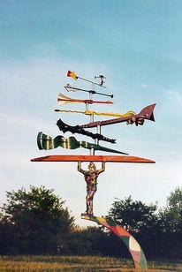 Jongleur kinetische Skulptur