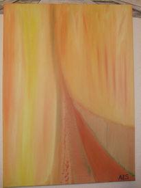 Malerei, Abstrakt, Brücke