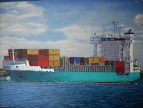 Malerei, Container