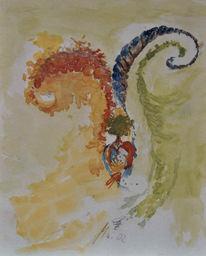 Aquarellmalerei, Malerei, Aquarell,