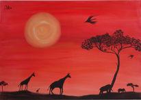 Sahara, Urlaub, Savanne, Afrika