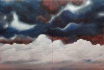 Wolken, Malerei,