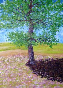Malerei, Baum