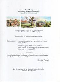 Ausstellung, Holzhausen, Leipzig, Pinnwand