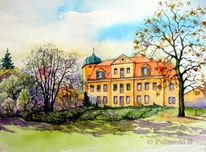 Schloss, Sachsen, Leipzig, Gundorf