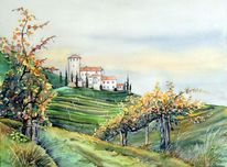 Landschaft, Weinberg, Tirol, Lebenburg