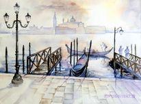 Lagune, Venedig, Italien, Landschaft