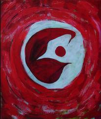 Ruhe, Rot, Innere, Malerei