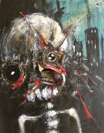 Roboter, Fiktion, Skelett, Utopie