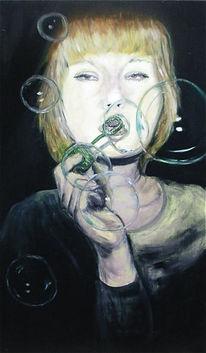 Malerei, 2011, Seifenblasen