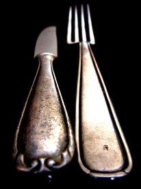 Messer, Fotografie, Perspektive, Schwarzposter