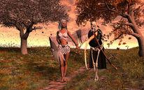 Ende, Arbeit, Digitale kunst, Mythologie
