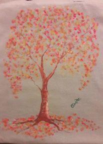 Baum, Einkaufen, Beutel, Umwelt