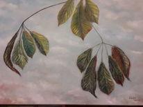 Krank, Tod, Kastanien, Blätter