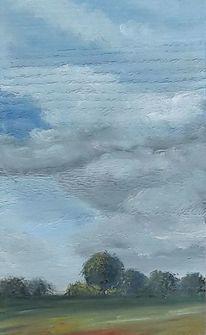 Holzbohle, Granseer platte, Landschaft, Malerei