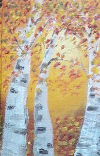 Baum, Blätter, Holz, Herbst