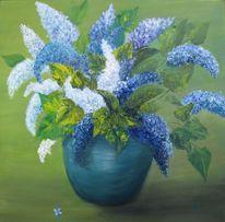 Familie, Vase, Natur, Frühlingsgruß