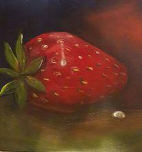 Erdbeeren, Rot, Malerei