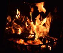 Jahreswechsel, Feuer, Warm, Wärme