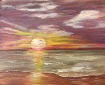 Ostsee, Himmel, Mai, Strand