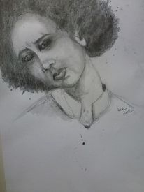 Gefühl, Menschen, Grafit, Zeichnungen