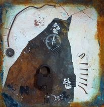 Patina, Assemblage, Materialbilder, 2013
