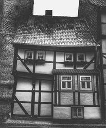 Reise, Schwarzweiß, Stadt, Architektur