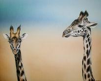 Giraffe, Malerei, Figural
