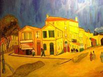 Arles, Malerei, Das gelbe haus, Frankreich