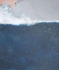 Tief, Blau, Malerei,
