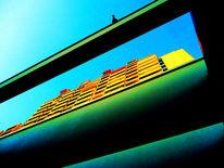 70er, Olympiapark, Sommer, Architektur