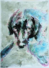 Portrait, Gemälde, Augen, Gesicht