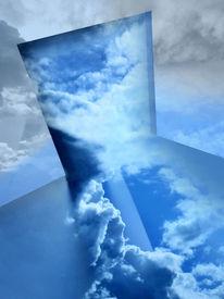 Illusion, Natur, Himmel, Tinkering