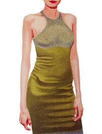 Realismus, Popart, Gold, Malerei