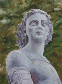 Portrait, Ölmalerei, Figur, Standbild