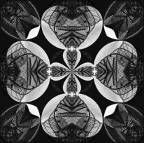 Digitale kunst, Abstrakt, Kaleidoskop