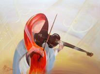 Musik geige violine, Musik harmonie spiel, Bogen frau mädchen, Malerei