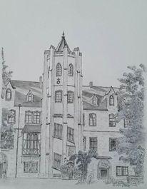 Mansfeld, Schloss, Zeichnungen