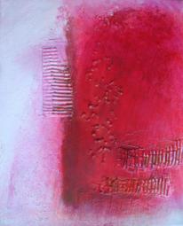 Malerei, Abstrakt, Pink