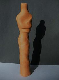 Ton, Herbst, Plastik, Skulptur
