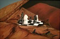 Schach, Berge, Figur, Braun
