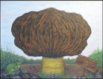 Asse, Atommüll, Illustration, Malerei