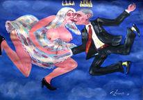 Malerei, Figural, Himmel, Ehe