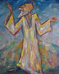 Malerei, Figural, Erde, Gott